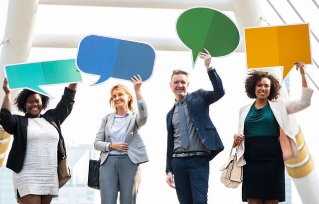 комуникация в организацията